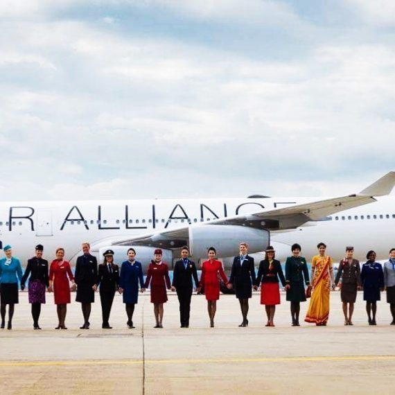 Elsa Fragata representa Tap Air Portugal na StarAlliance